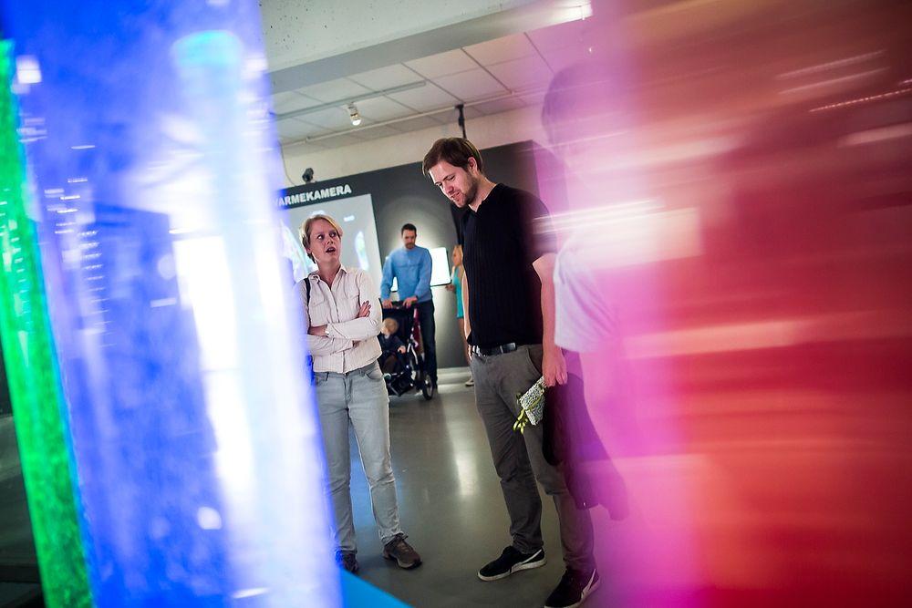 Konkurranser: Næringslivet må stille opp mer for å få opp interessen for realfag, mener Ap-politikerne Marianne Aasen og Andreas Halse. FOTO: Håkon Jacobsen