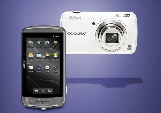 AndroidkameraNikon frir til nye brukere med Androidbaserte Coolpix S800c.