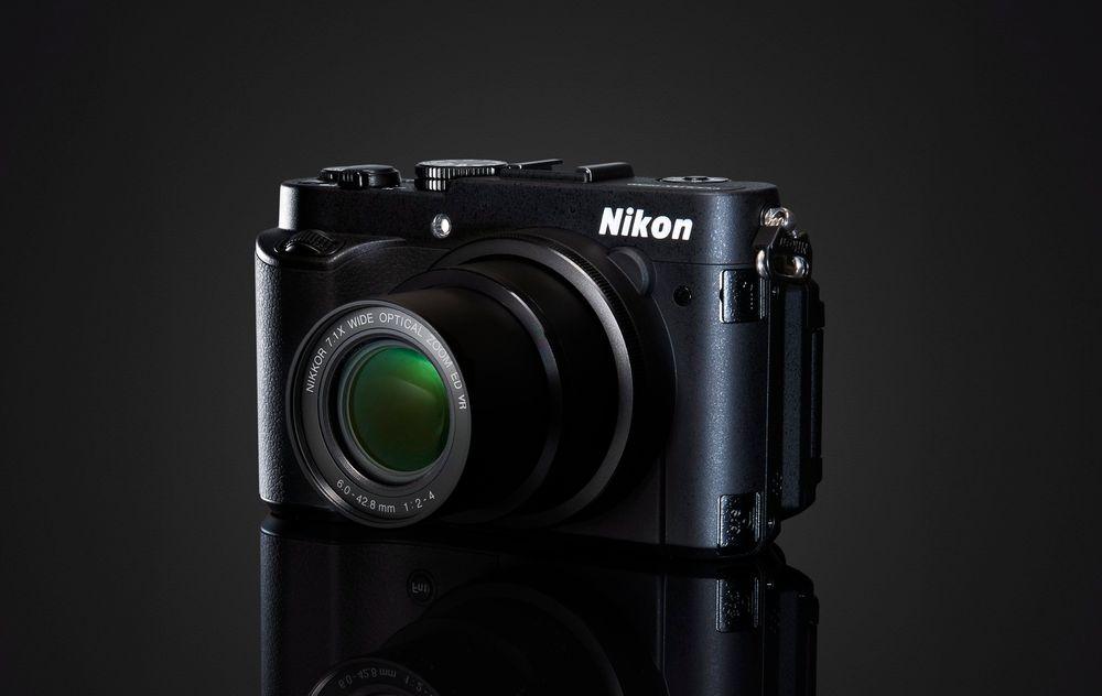 Minst kompakte kompakt: P7700 er Nikons nye superkamera i kompaktklassen.