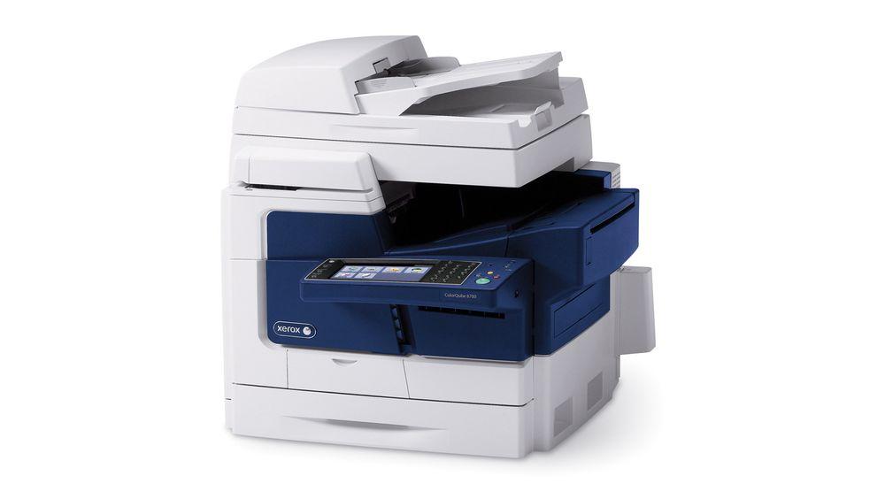 Ikke som de andre: Xerox ColorQube ser ut som en multifunsjons laserskriver, men inni er det en helt annen teknologi som gir 90 prosent mindre avfall og bruker 19 prosent mindre energi.