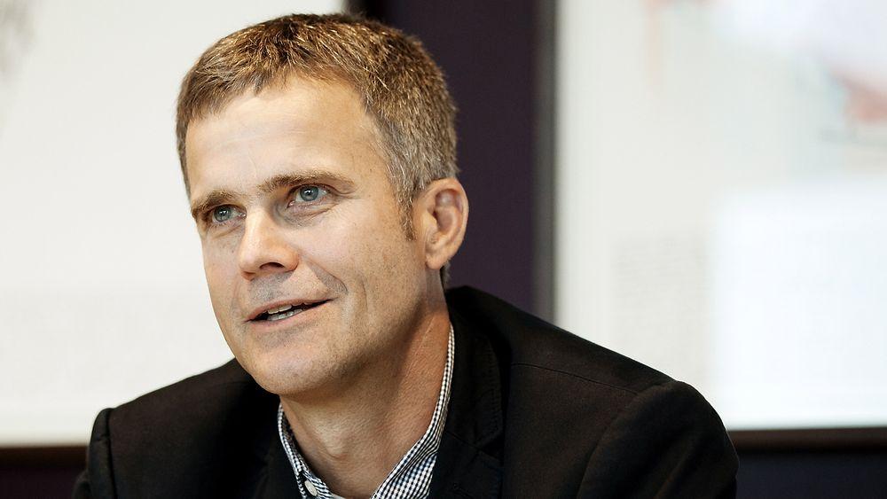Vil ha olje til land: Konsernsjef i Statoil, Helge Lund, har bestemt seg for at Skrugard-oljen skal til land.
