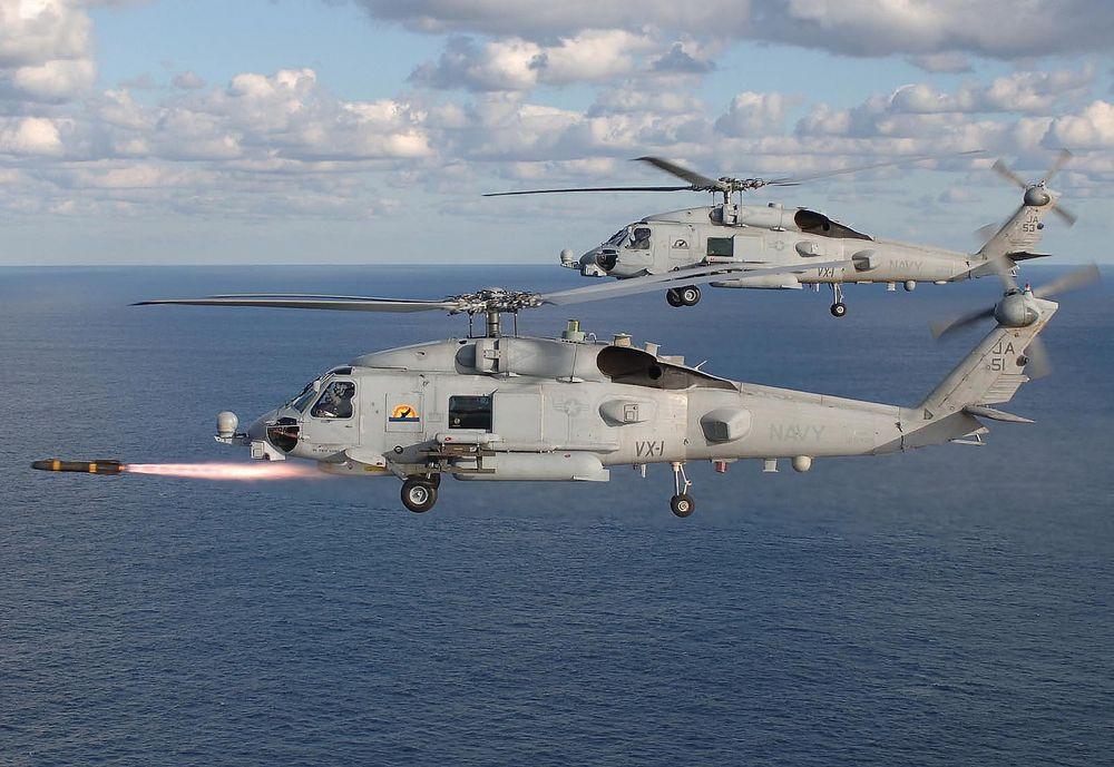 Det er et helikopter av denne typen, Sikorsky MH-60R Seahawk, som vurderes istedenfor NH90.