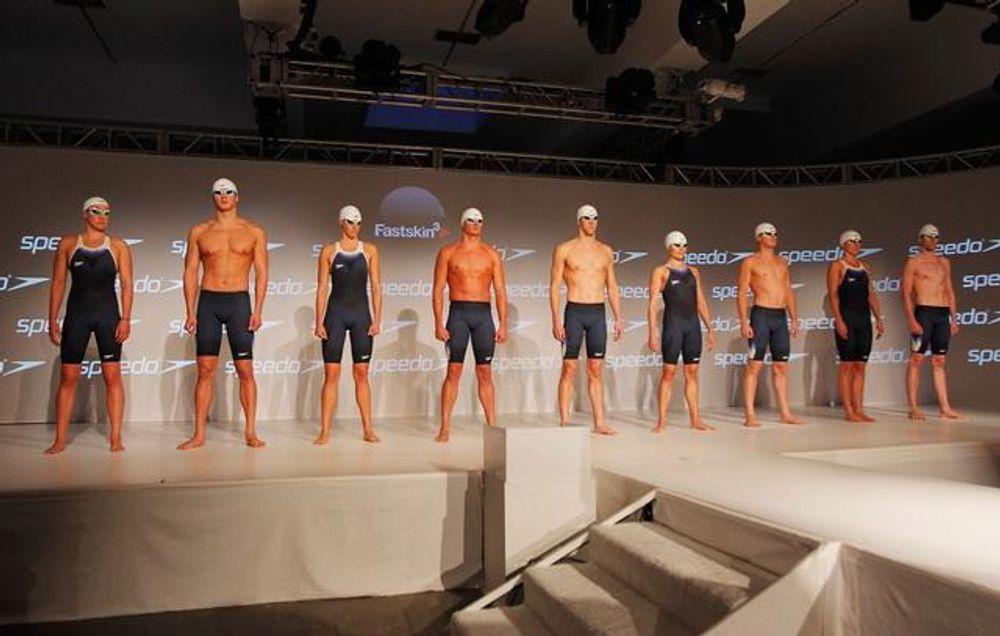 Speedos avanserte svømmedrakt Fastskin 3 tilfredstiller de strenge kravene til det internasjonale svømmeforbundet