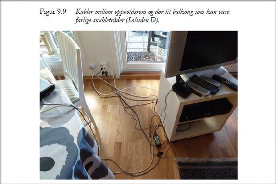 TRANGT: Det største problemet i små leiligheter er lite passasjer, som ifølge boligforskere representerer en fare for ulykker.