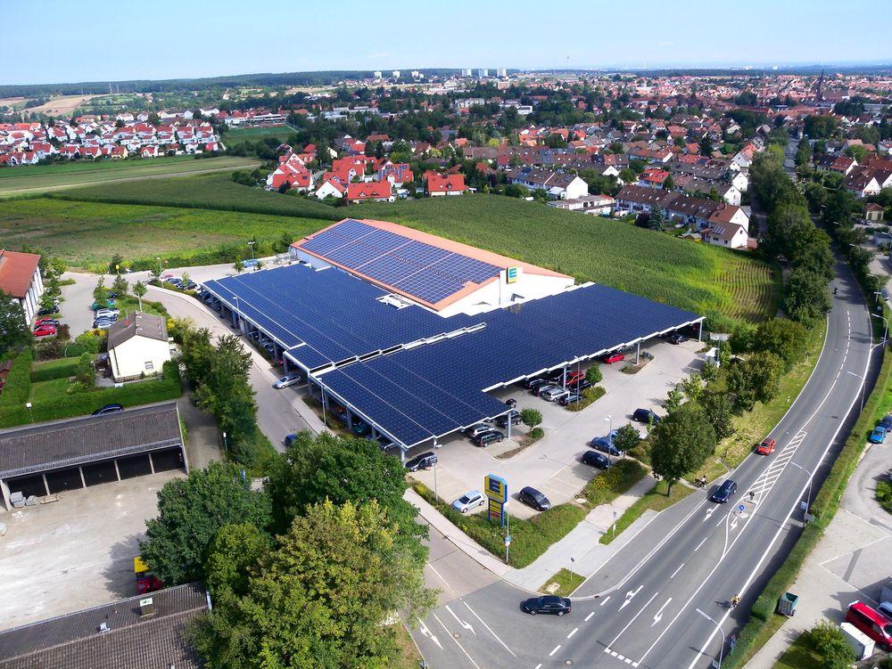 Solcelleselskapet Belectric har inngått en  avtale med supermarkedkjeden Edeka om å dekke butikkene deres med solcellepaneler.