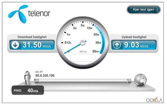 Hui, hvor det går: Netcom åpnet sitt LTE-nett for tre år siden og viser styrke. Her går det fortest