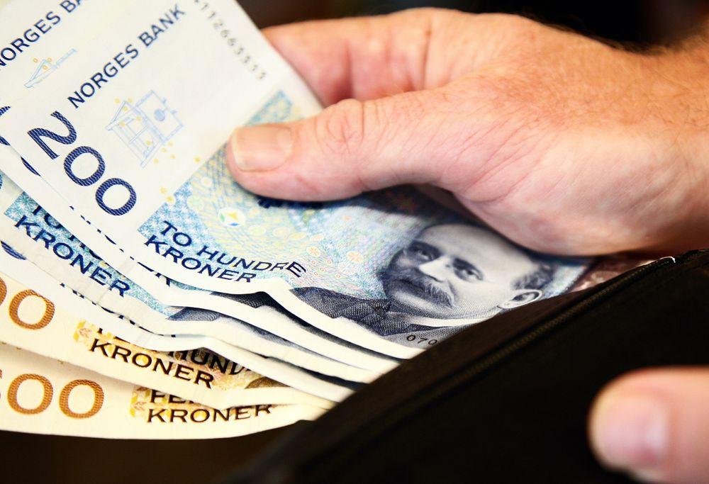 Gjennomsnittlig lønnsvekst i de undersøkte gruppene i fjor var 3,9 prosent, ifølge Teknisk beregningsutvalg for lønnsoppgjørene.