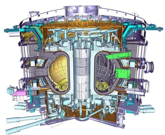 Tokamak-reaktoren skal installeres i 2015.