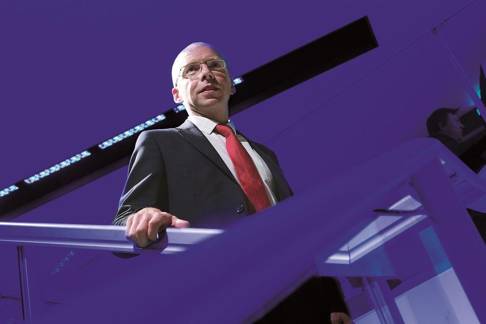 STEN FOR STEN: Rúni M. Hansen tror Statoils erfaring fra Barentshavet vil dra selskapet videre til mer ekstreme arktiske områder.  FOTO: Håkon Jacobsen