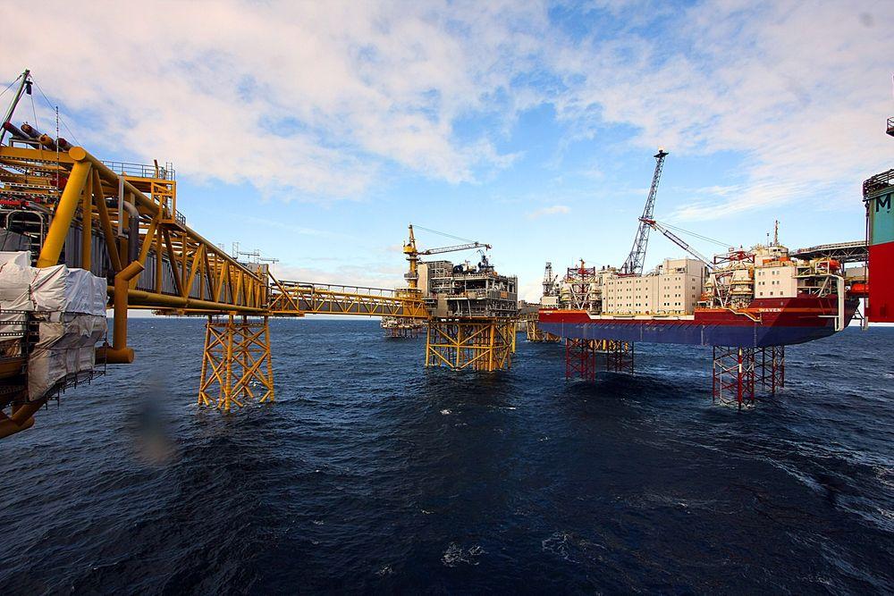 INDUSTRI: 83 milliarder investeres nå i fornyelsen av Ekofisk. Norges første og største oljefelt er et knutepunkt for infrastruktur i den sørlige delen av Nordsjøen. FOTO: Ole K. Helgesen
