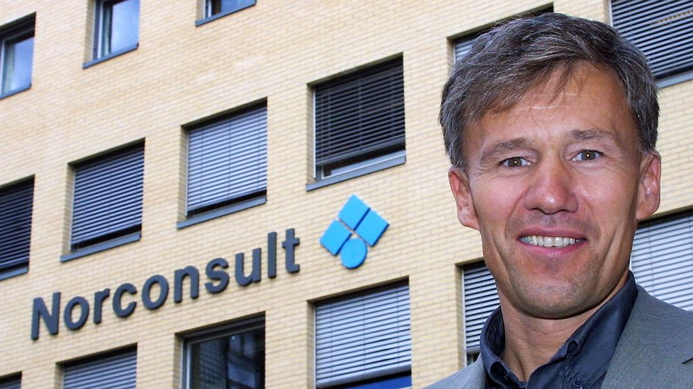 LITE Å SMILE FOR: Adm. dir. John Nyheim i Norconsult kan gå glipp av alle offentlige oppdrag om korrupsjonsdommen blir stående.