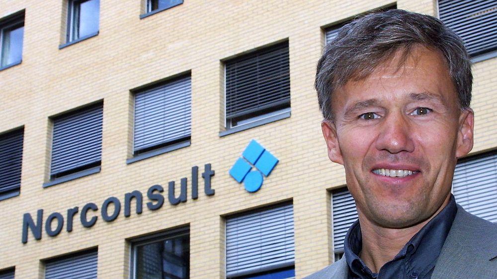 GRUNN TIL Å SMILE: - Endelig kan vi legge saken bak oss, sier John Nyheim, administrerende direktør i Norconsult.