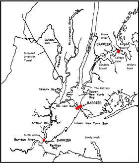 Allerede i 2004 forslo flere forskere å bygge flomvern på disse stedene.