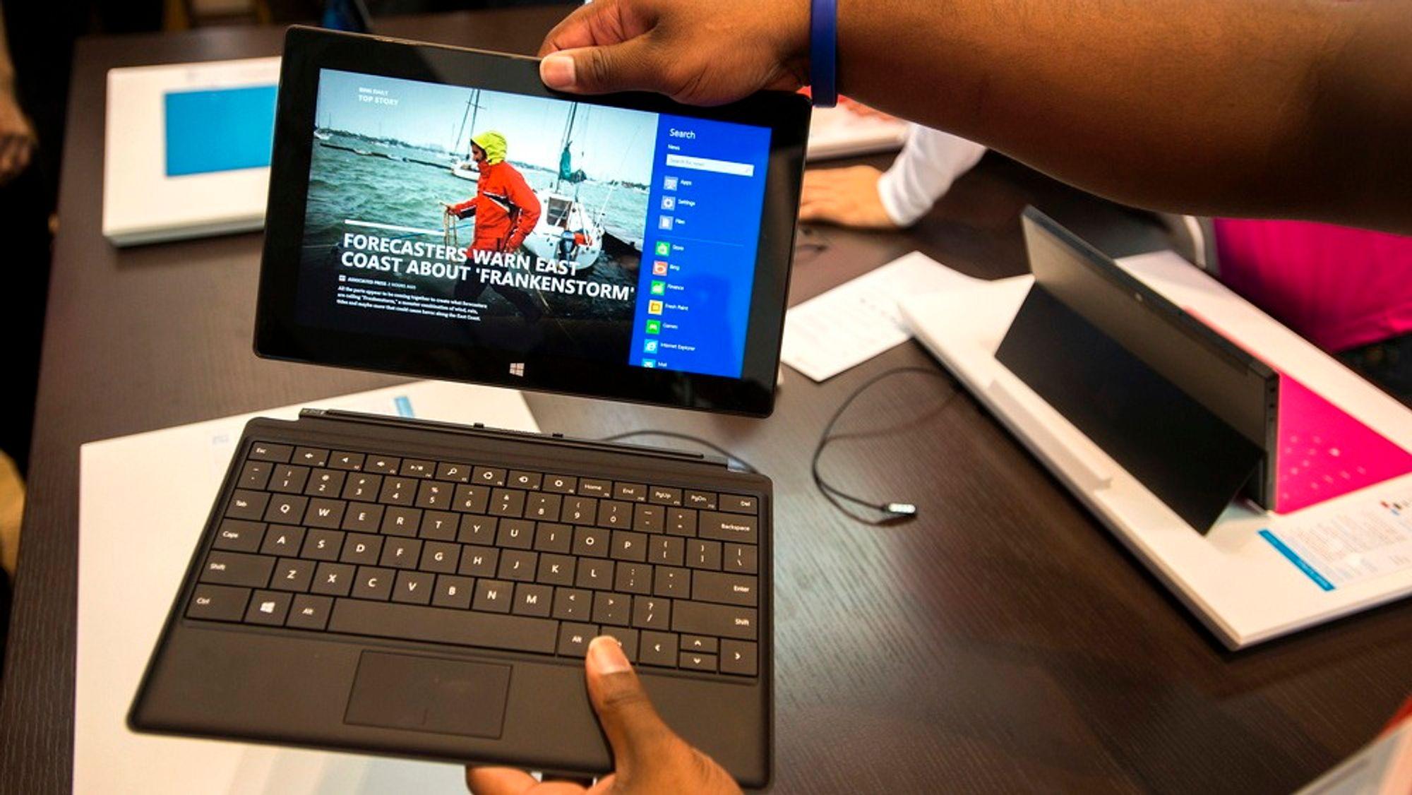 Microsoft Surface RT kommer i salg i Norge 14. februar.