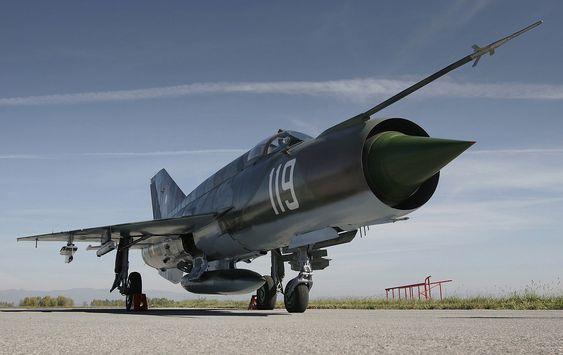 Bulgarsk MiG-21