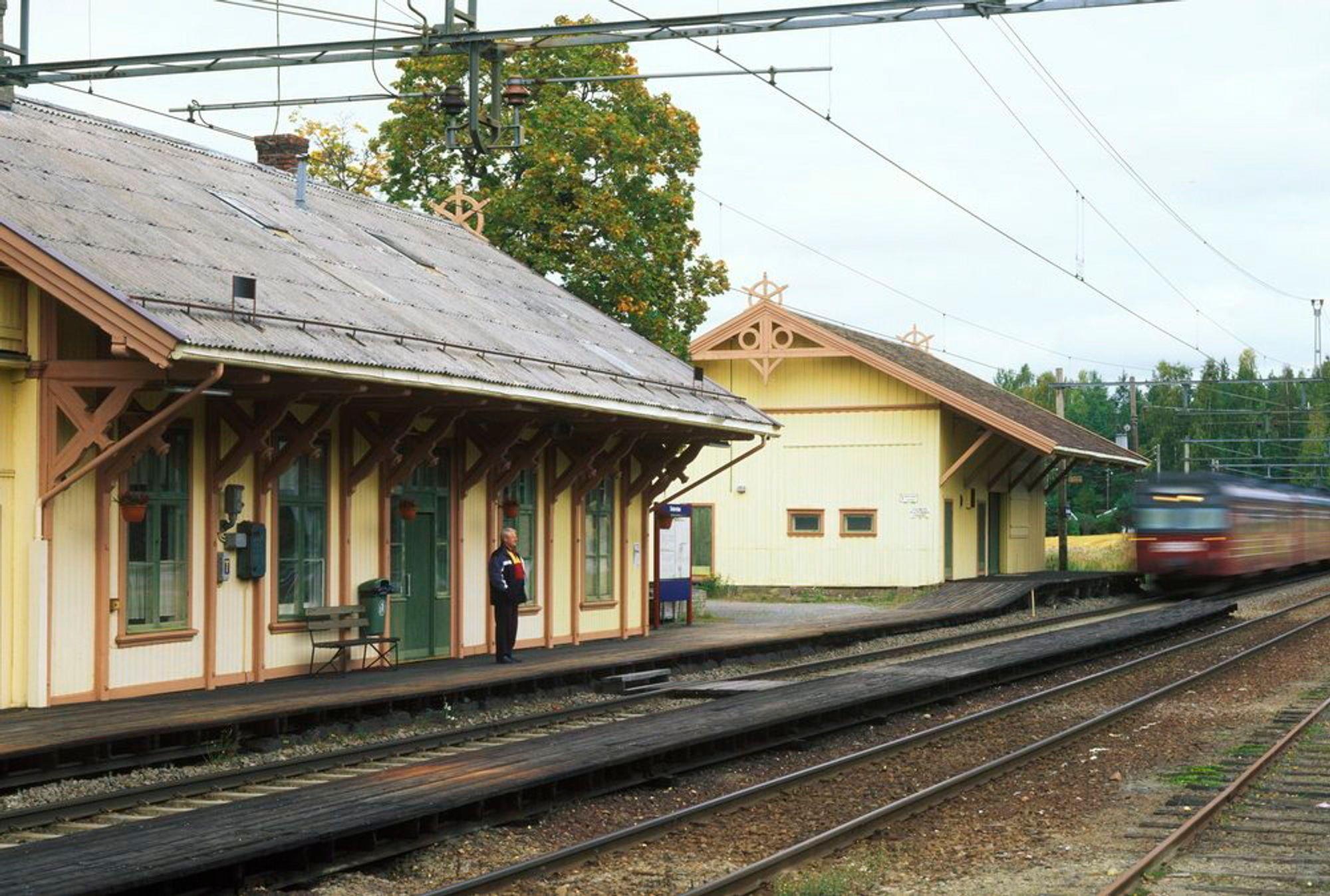 Seterstøa i Nes i Akershus er en av stasjonene som ikke lenger skal vedlikeholdes, men legges ned for godt.
