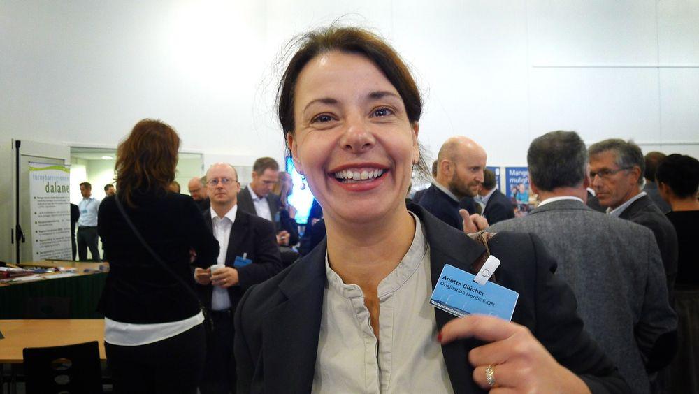 INNLANDET: Anette Blücher, leder av E.ons vindkraftsatsing i Norge, Sverige og Finland, foretrekker innlandet framfor forblåste øyer langs kysten.