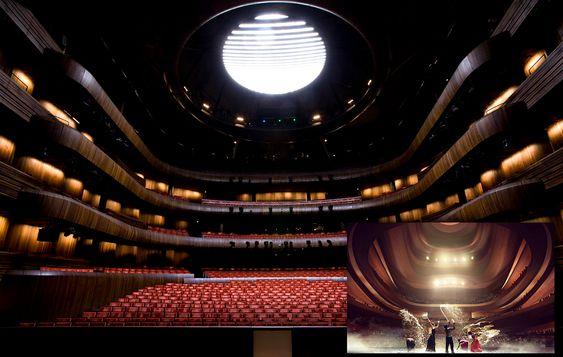 LIGNER DET?: Snøhætta har fått kritikk for at det nye operahuset i Busan i Sør-Korea ligner på operahuset i Bjørvika i Oslo. Døm selv.