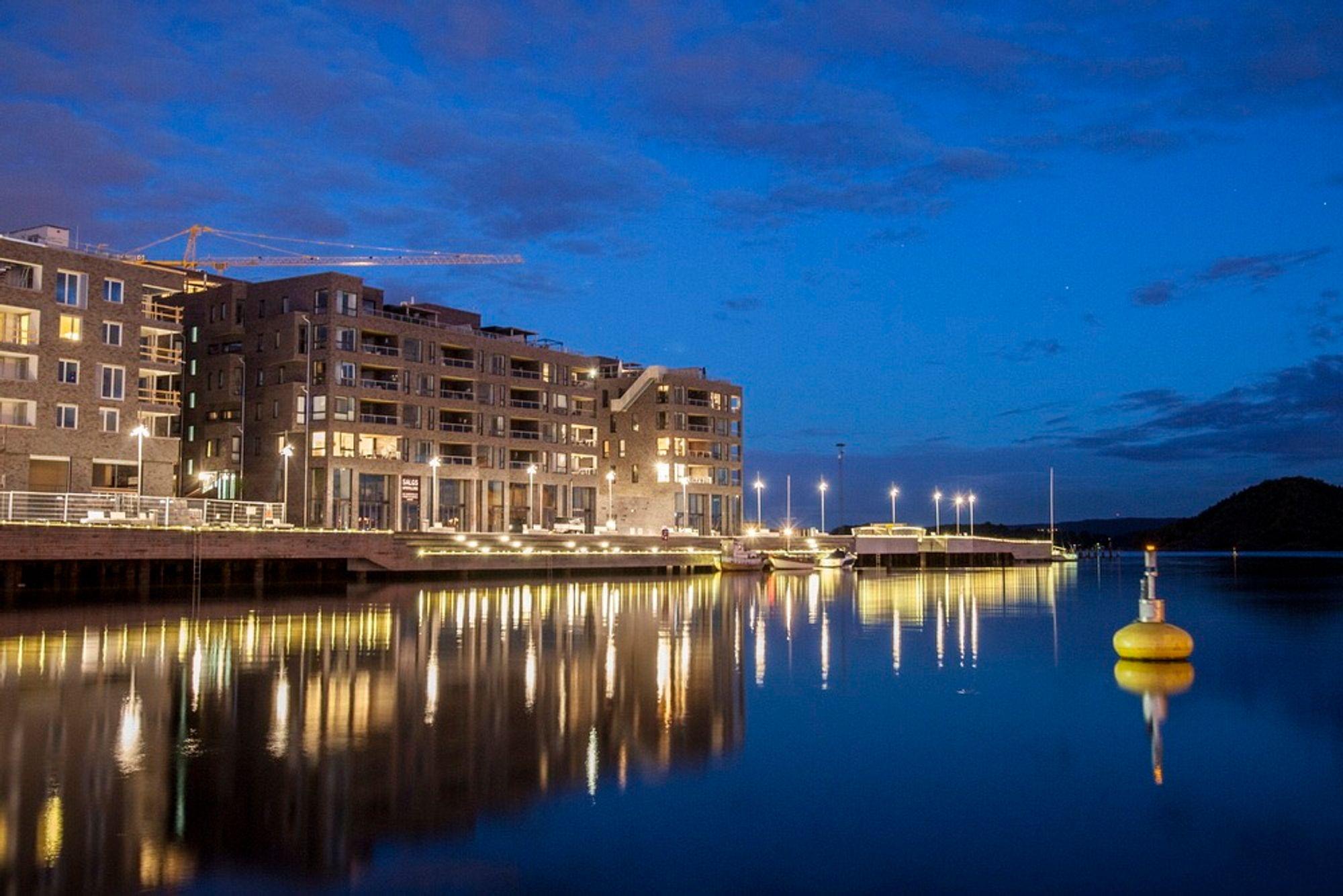 Sørengutstikkeren har den største konsentrasjonen av boliger i Bjørvika i Oslo. Nesten 90 prosent av bygningsmassen her er satt av til boliger, men nå trenger byen - og områdene rundt - nye vekstområder.