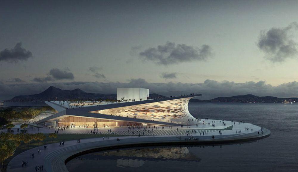Snøhettas arkitektur er et eksempel på ekstraordinært idearbeid som kommer som følge av ti kriterier, ifølge førsteamanuensis Arne Carlsen ved BI. Her det Snøhetta-tegnede operahuset i Busan i Sør-Korea.