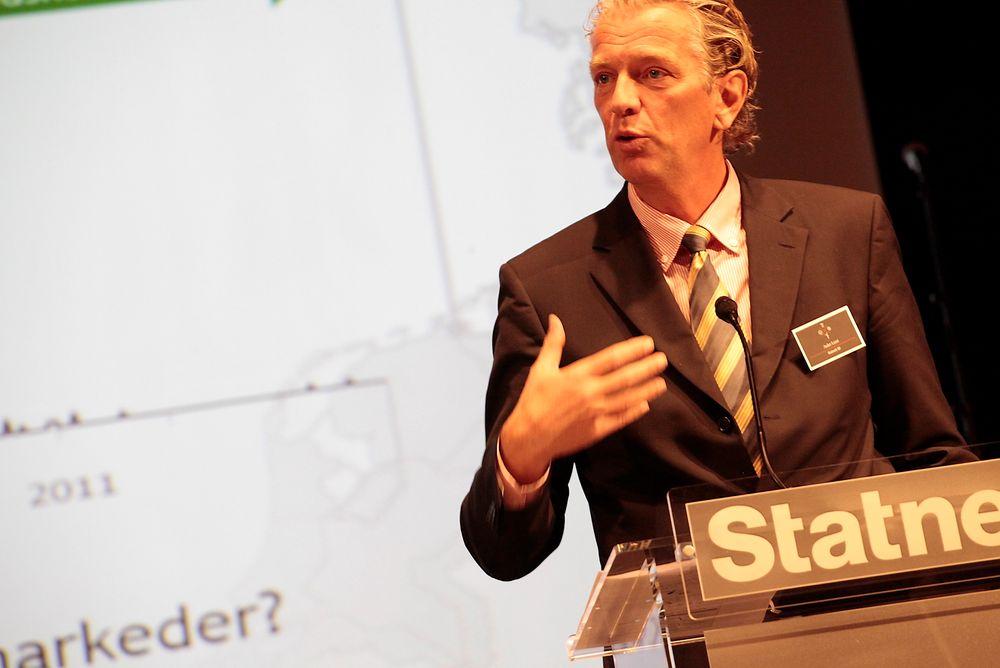 Statnett-sjef Auke Lont mener gasskraften vil bidra til at europeerne kan fase inn ny ufleksibel fornybar kraft. FOTO: Statnett