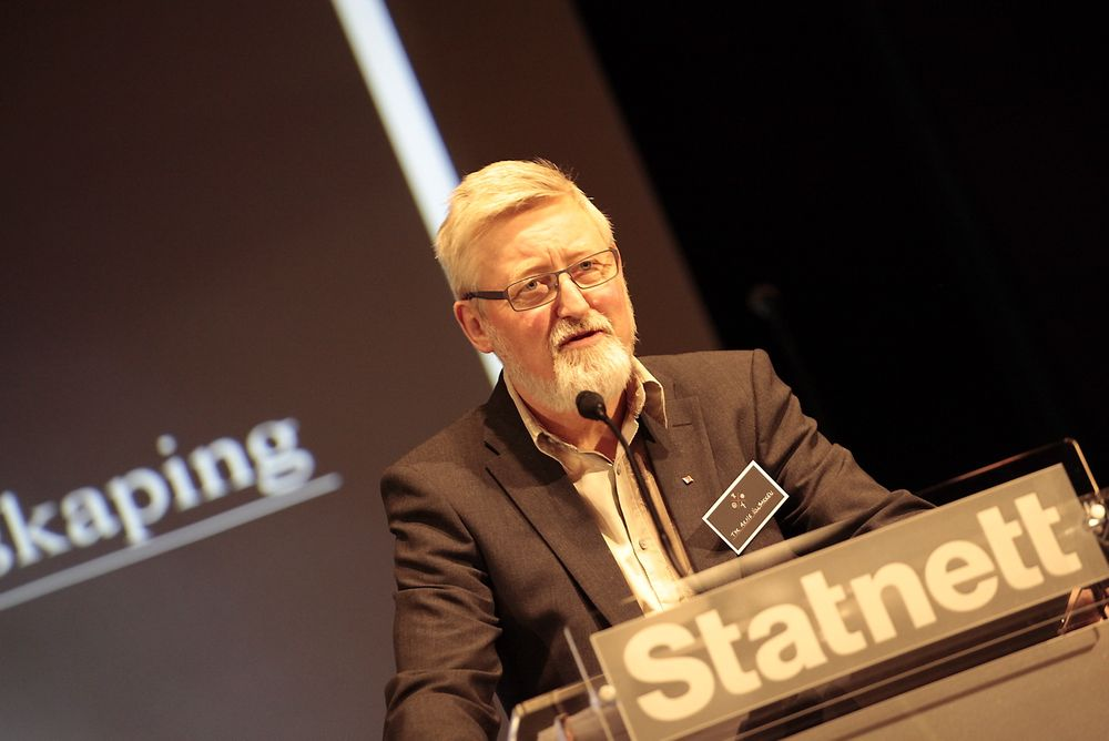 Et gasskraftverk med fangst og lagring av CO2 i Hammerfest ville vært fullfinansiert av nettariffen dersom dette kunne vedtas på samme måte som utbygging av kraftledning, ifølge LO-nestleder Tor-Arne Solbakken. (Foto: Statnett)