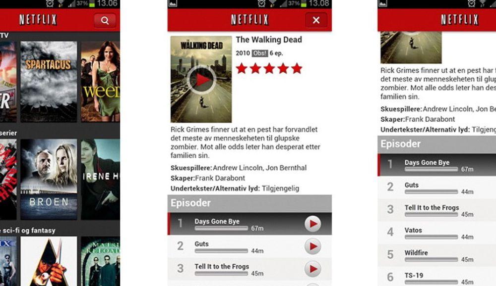Netflix måler kvaliteten på norske internettleverandører.