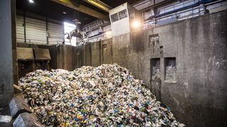 Se hvordan søpla gjenvinnes