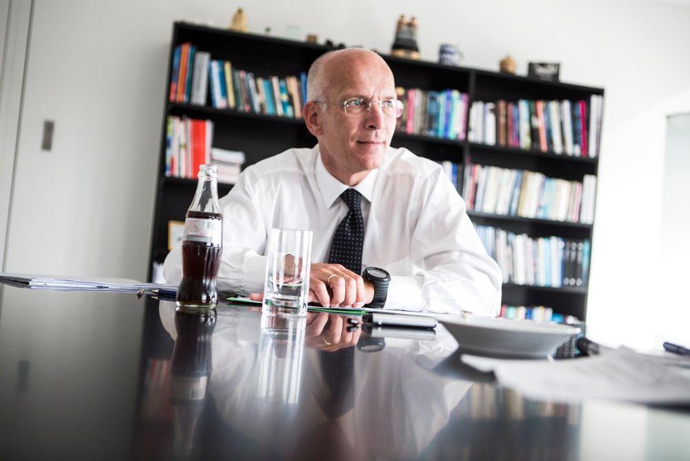 Skeptisk: Konserndirektør Jørgen Kildahl i Eon er skeptisk til påstanden om at eksport av fleksibel vannkraft fra Norge til kontinentet reduserer CO2-utslippene.