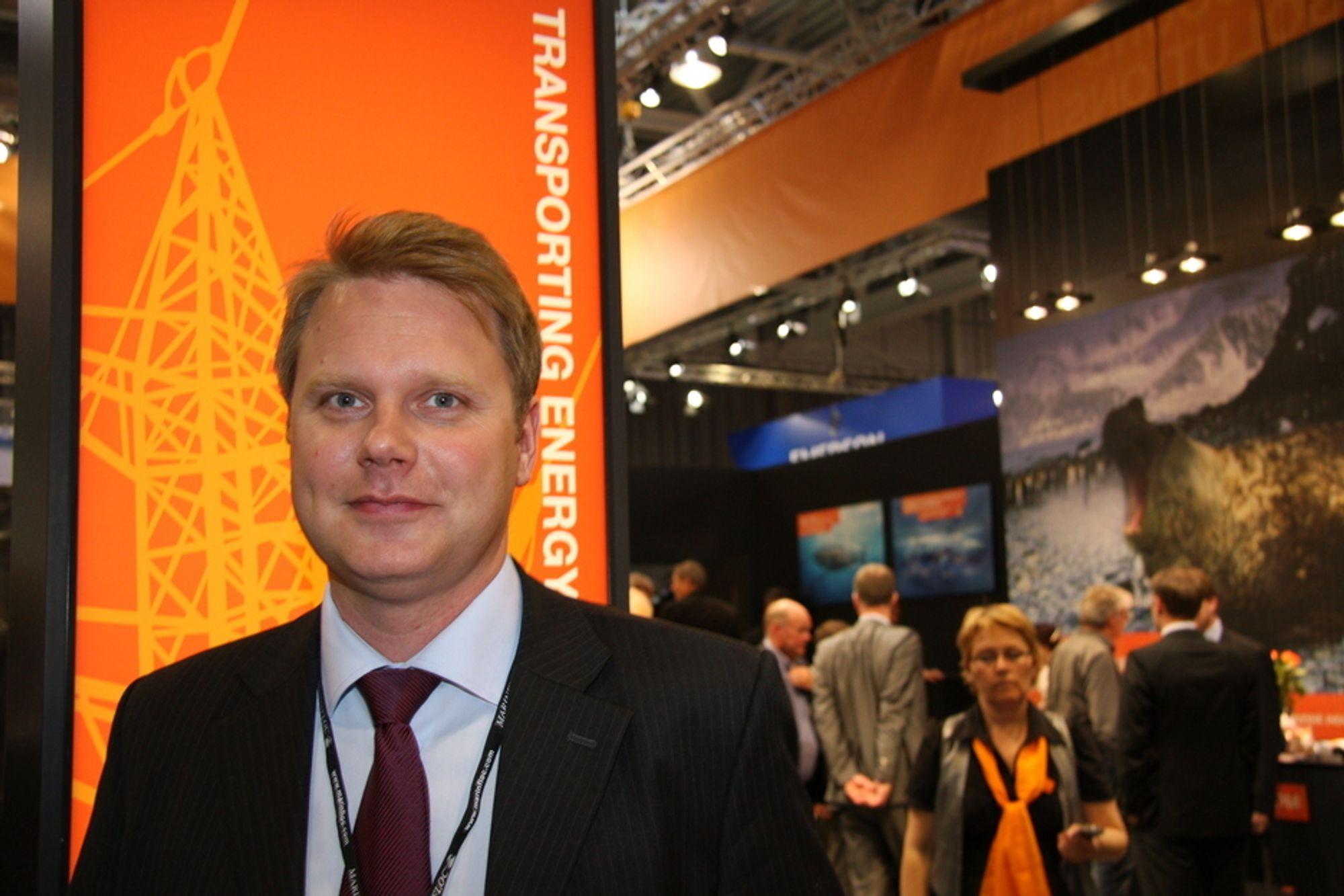 DESIGNSJEF: Finnen Riku-Pekka Hägg bygger opp Wärtsiläs designselskap. Kjøpet av Vik-Sandvik ga selskapet et solid løft.