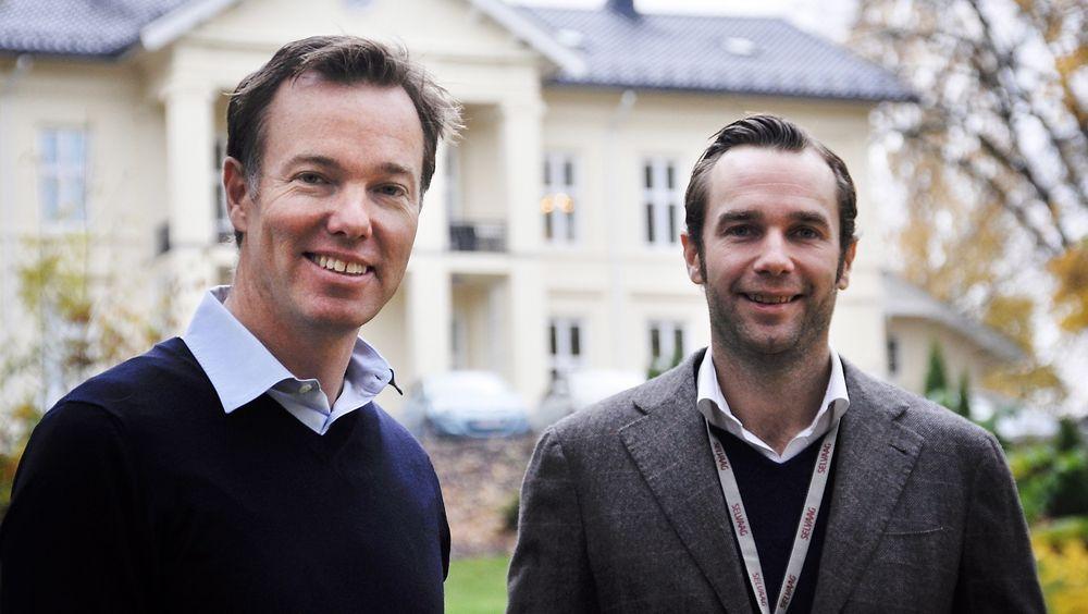 BOLIGBYGGERE: Brødrene Olav H. og Frederik Selvaag er i dag konserndirektører i Selvaag-gruppen.