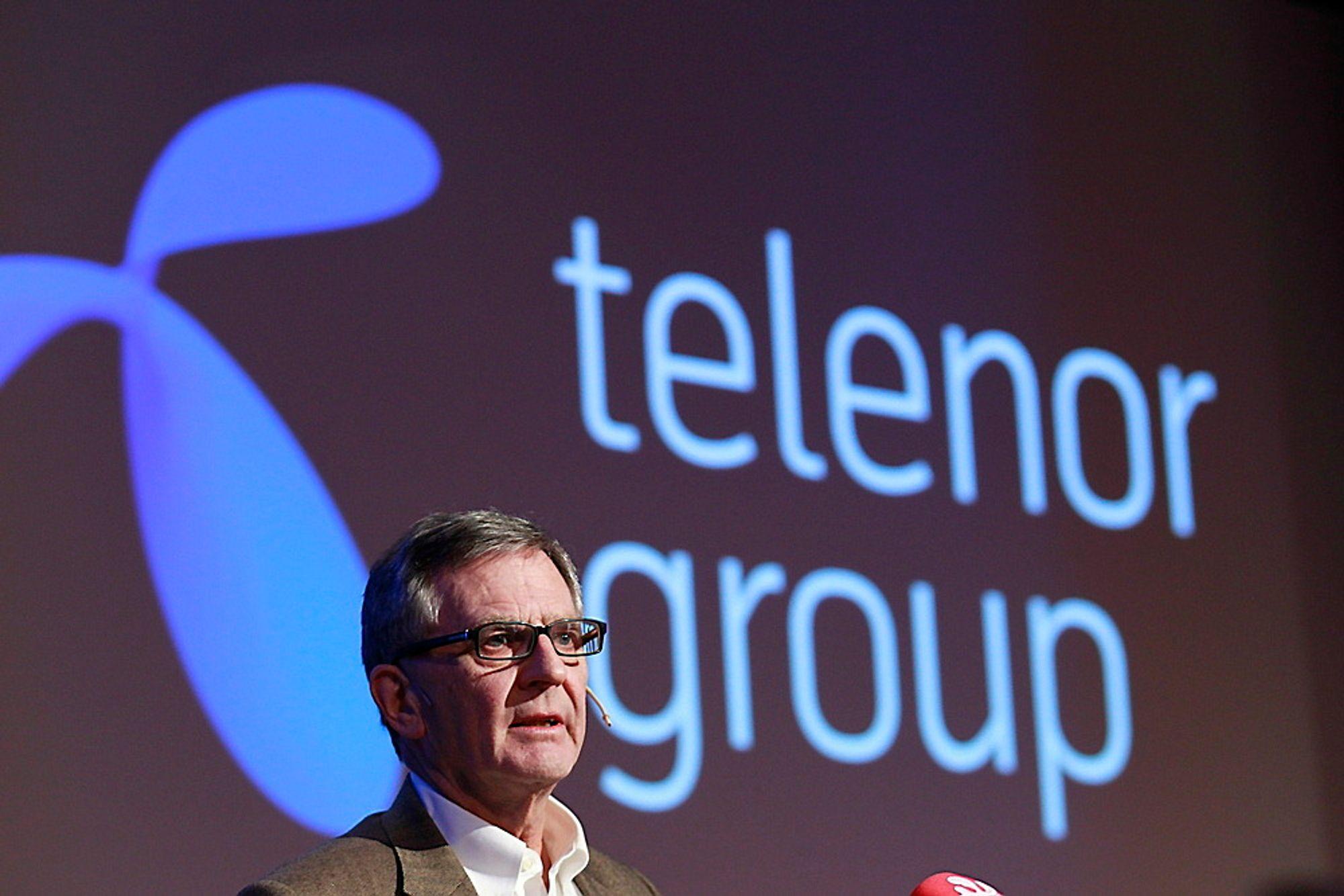 """Telenors styreleder Harald Norvik gikk av onsdag på grunn av """"manglende tillit"""" fra næringsminister Trond Giske."""