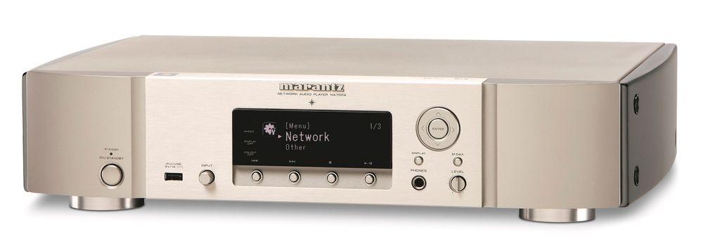 MARANTZ NA 7004 NETTVERKSPILLER: Scorer høyt på design.