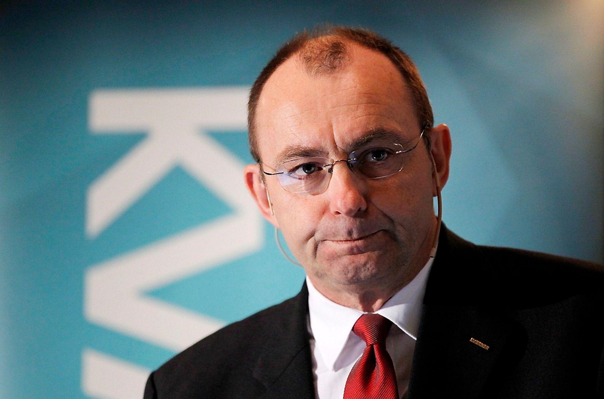 Jan Arve Haugan, konsernsjef i Kværner ASA