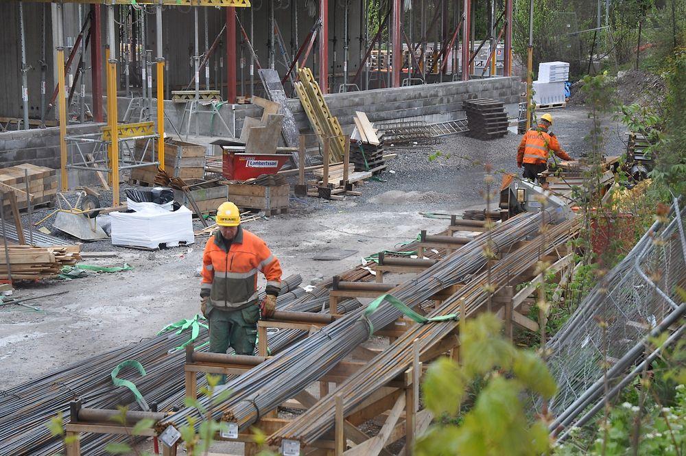 PROBLEM: Byggenæringens Landsforening (BNL) mener at byggeplasser må sikres bedre.