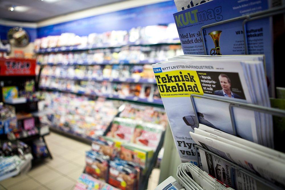 I LØSSALG: Nye Teknisk Ukeblad er også å få kjøpt i løssalg.
