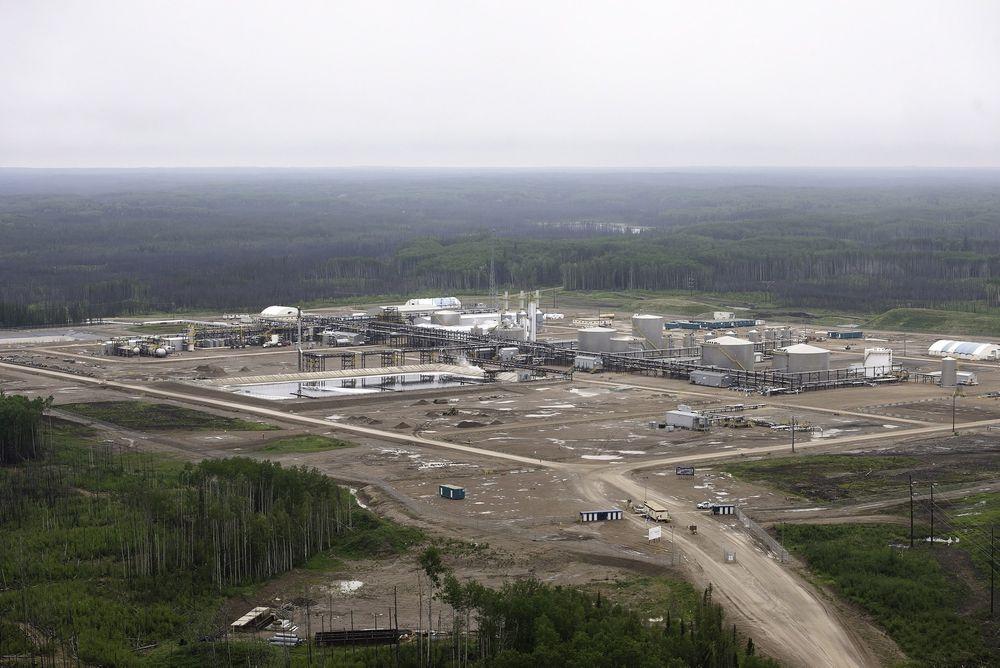 Statoils oljesandvirksomhet i Canada, som her på Leismer-anlegget, blir nok en gang tema på generalforsamlingen.