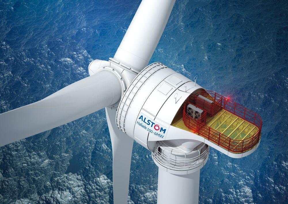 Kaprer mer vind med ny turbin