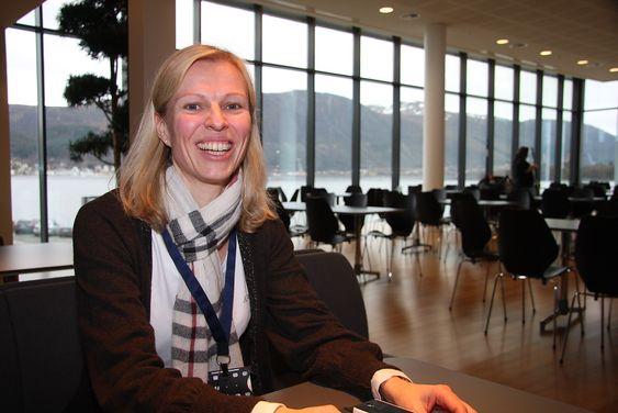 DELER: Konsernsjef Gunvor Ulstein lar de ansatte i norge få en andel av overskudddet på 254 millioner kroner. Mye investeres i forskning og utvikling også.