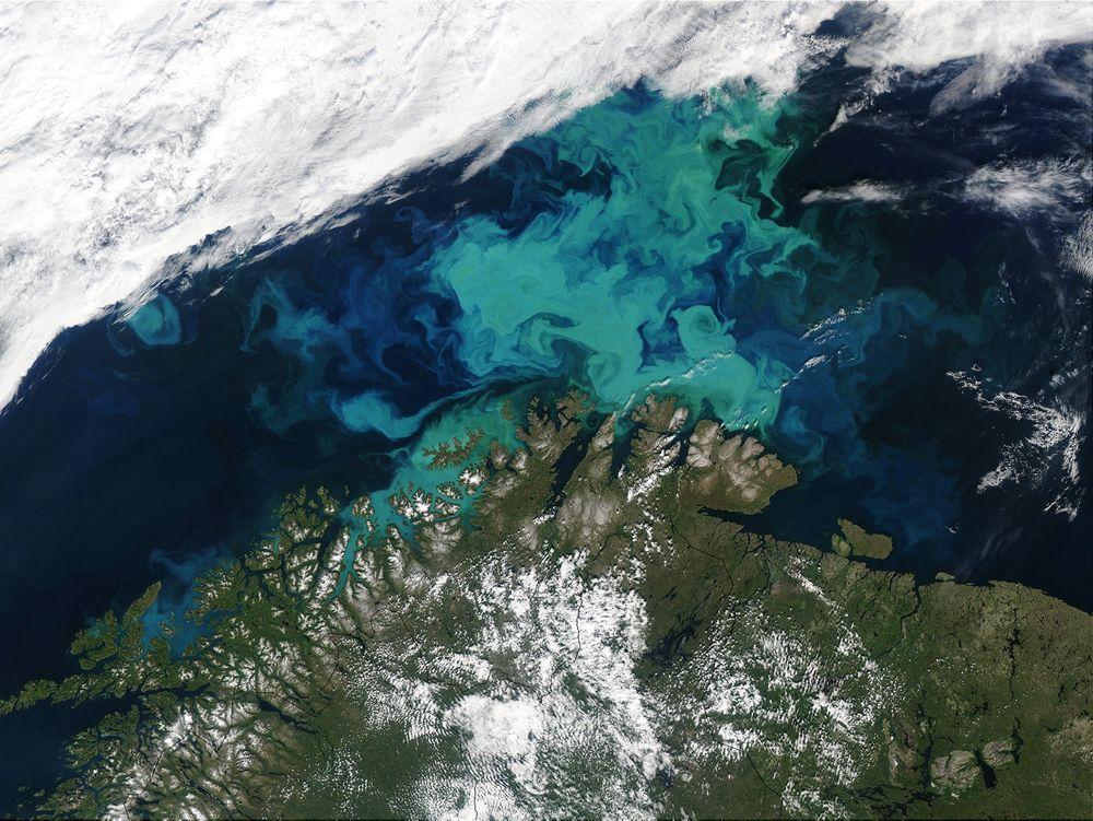 Nord-Norge og Barentshavet.