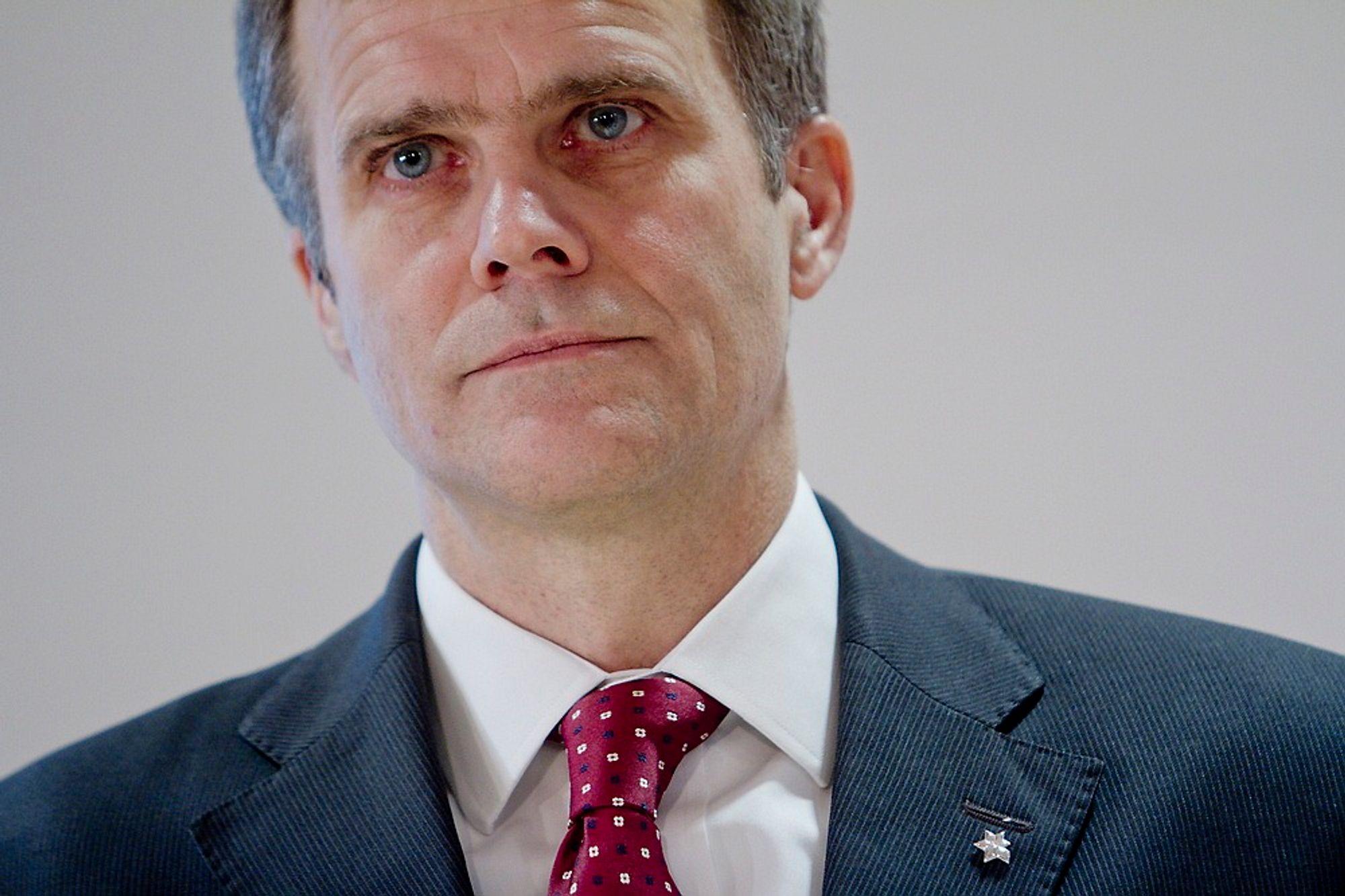 Konserndirektør Helge Lund i Statoil februar 2012
