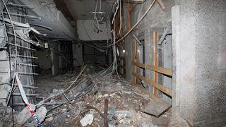 BILDESERIE: Se ødeleggelsene i Justisdepartementet