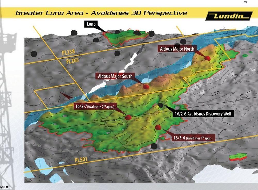 KJEMPESTRUKTUR: Det blir mer og mer tydelig at det er et kjempefelt i Nordsjøen.