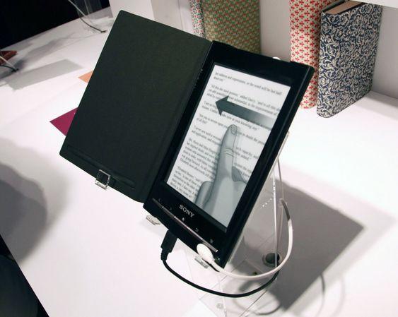 Ny Sony Reader med wifi-støtte og seks tommers skjerm.