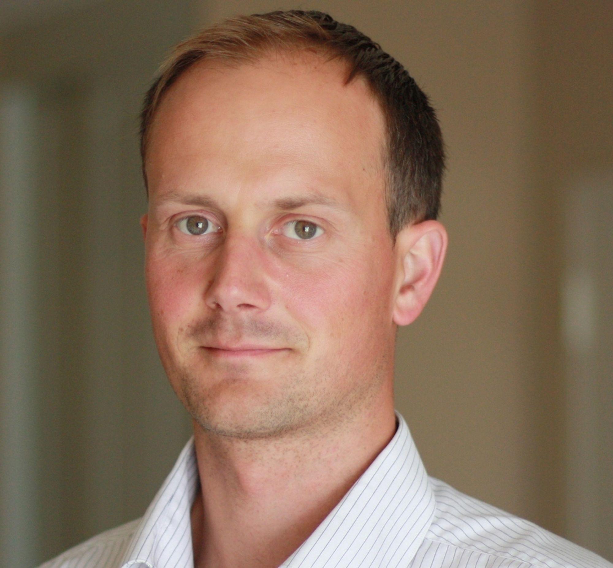 Doktorgradsstipendiat Jon Espen Skogdalen, UiS og Berkley, ekspert på offshore risikohåndtering.