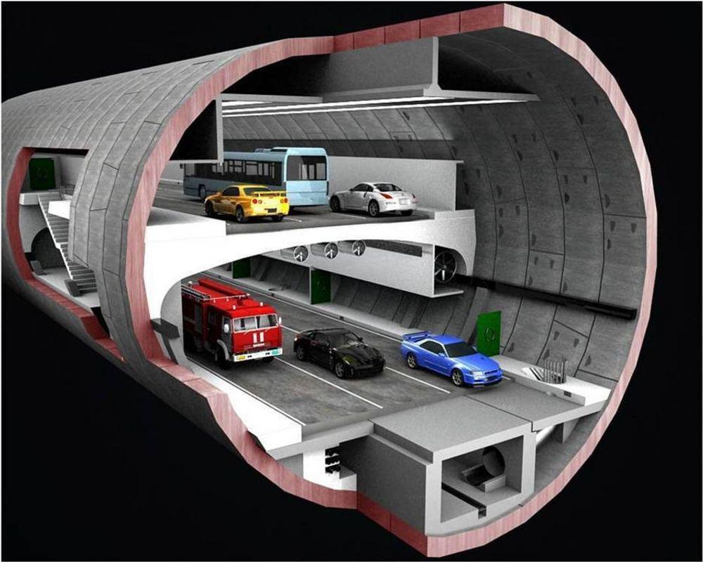 Orlovskij-tunnelen blir ikke så lang, men til gjengjeld blir den bred.