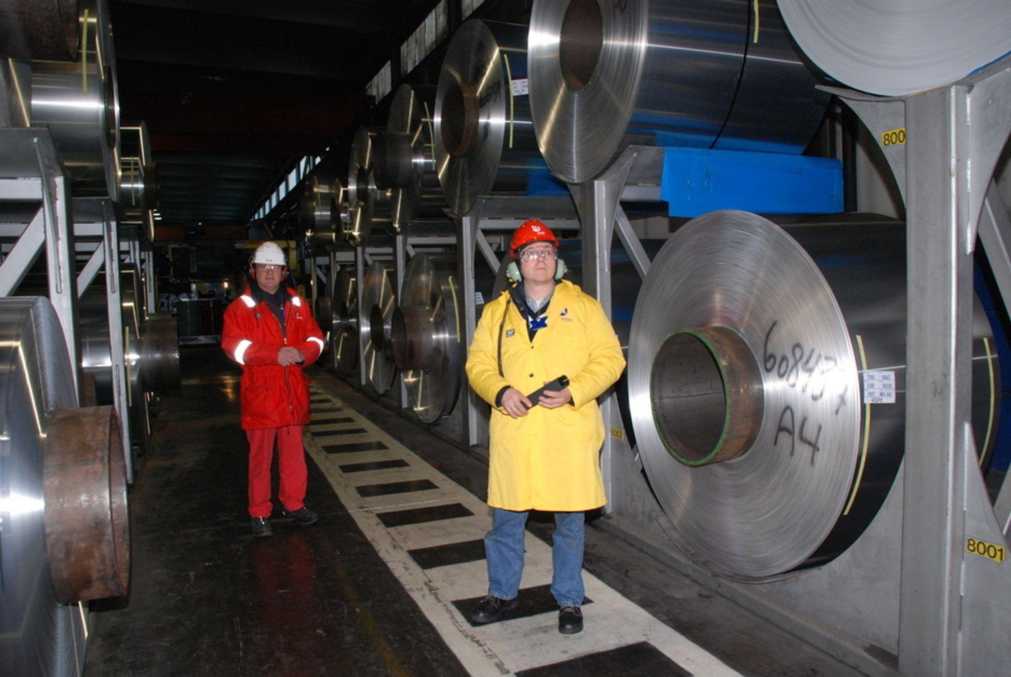 FOR LØNNSOMT FOR ENOVA-STØTTE: Tetting av trykkluftlekkasjer i industribedrifter kan spares inn over bare ett år, og det gjør det umulig å få Enova-støtte.