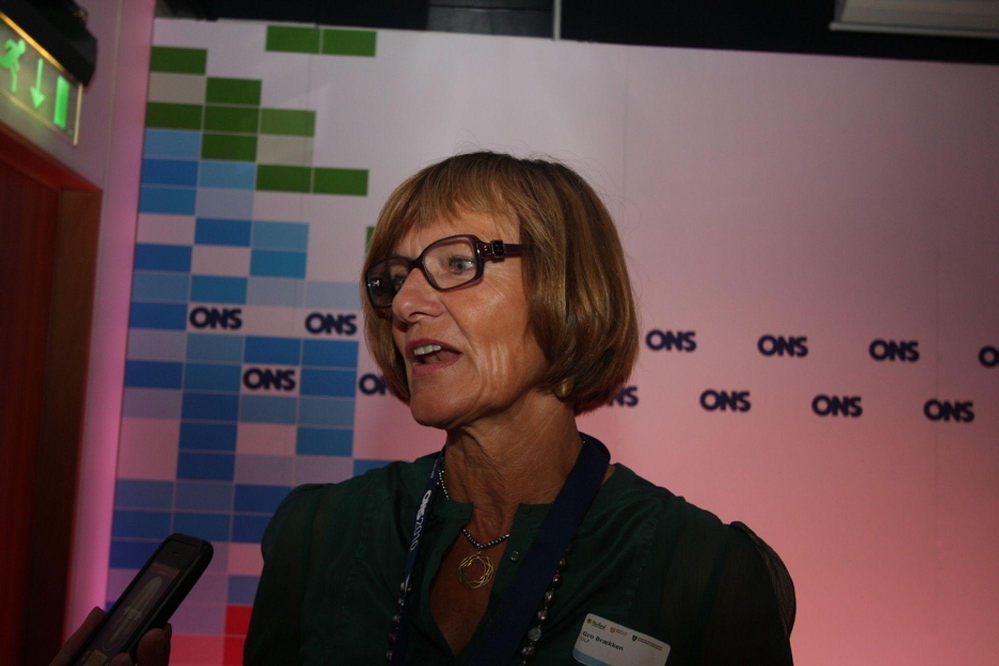 HÅPER: Gro Brækken håper Ola Borten Moe er ministeren som ser petroleumsnæringens behov.