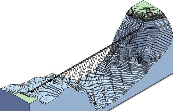 Bobleanlegg Svartisen kraftverkBobleledning Holandsfjorden