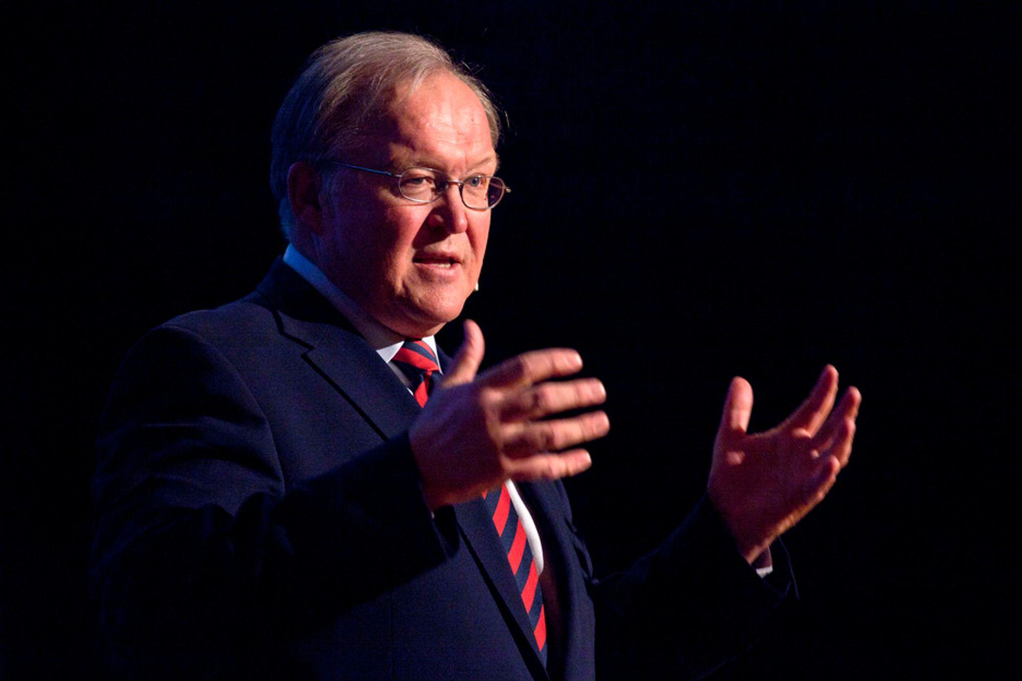SATSER: - Kineserne er godt forberedt og de mener at løsningen er satsing på ny teknologi, sier Göran Persson.